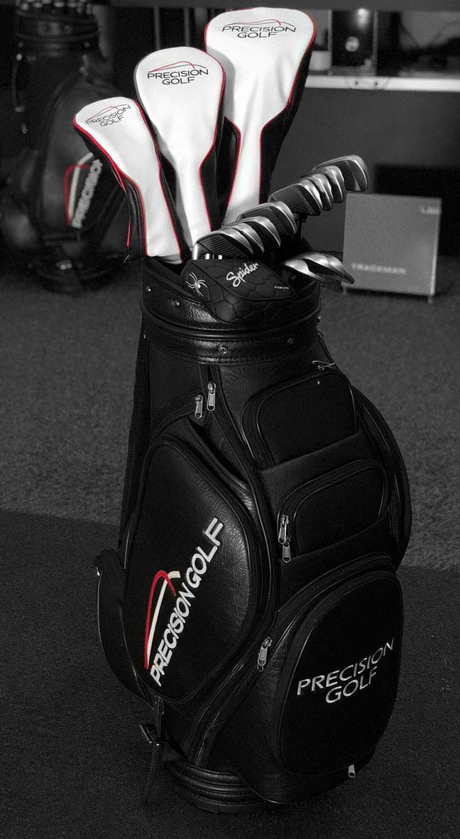 Full Custom Golf Bag Fitting