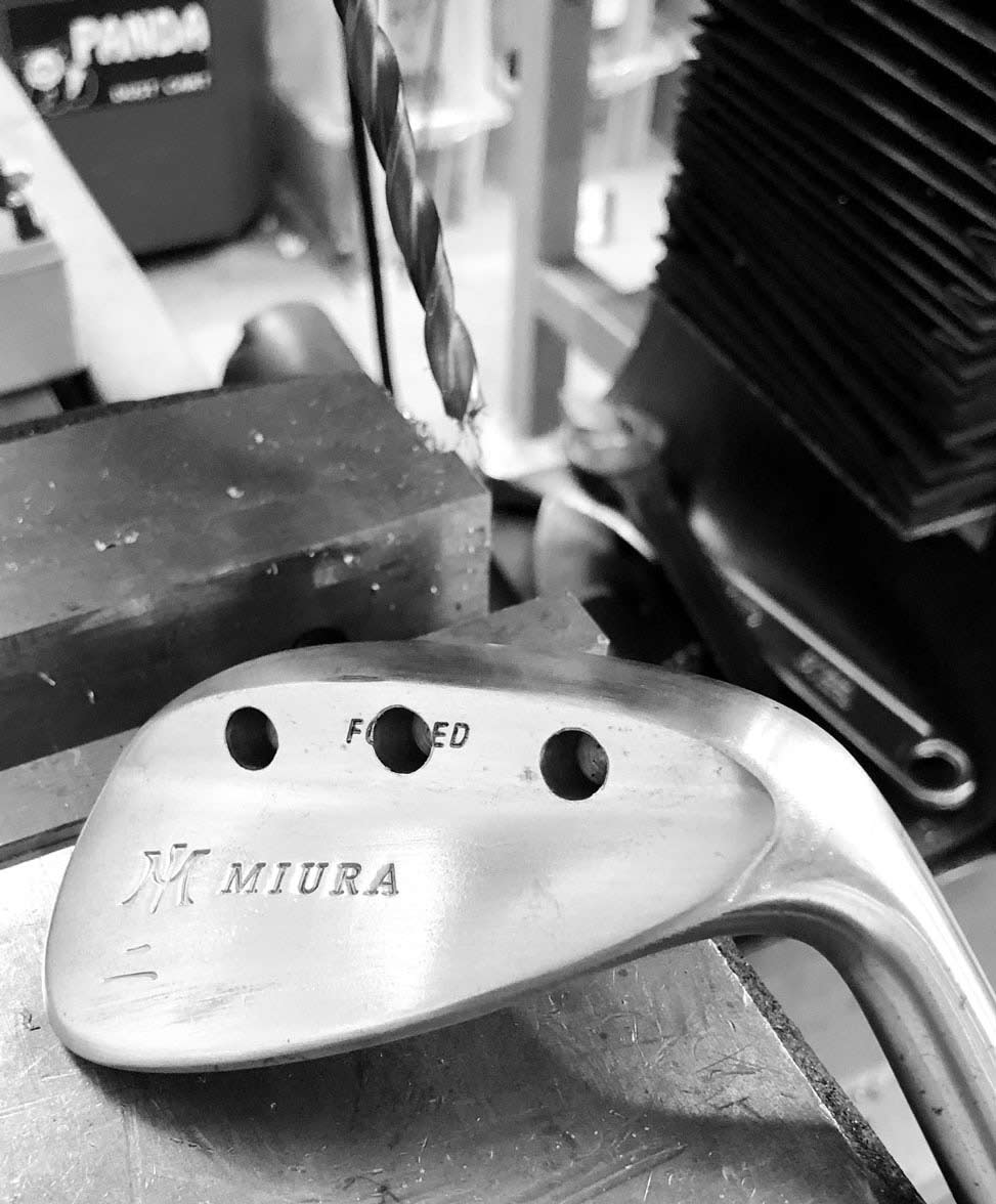 Wedge Porting/putter milling